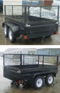 High Quality Manufacturer Heavy Duty 10X5 Cage Trailer CT0080e-1 pictures & photos