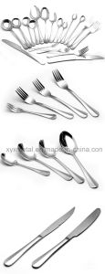 72PCS with Wooden Case Stainless Steel Tableware Flatware Cutlery Set pictures & photos