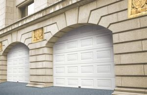 White Blocks Style High Quality Garage Door pictures & photos
