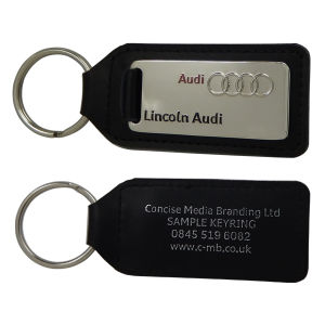 Custom Leather Key Ring pictures & photos