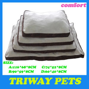 Printed Fabric & Soft Flannel Pet Cushion (WY161014-1/-2A/D) pictures & photos