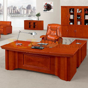 Modern Red Painting Executive Office Corner Desk (HY-NNH-K02-24) pictures & photos