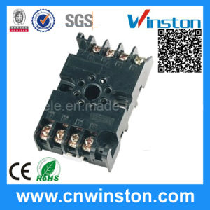 Miniature General Purpose Remote Electric Rail Solid State Relay Socket pictures & photos