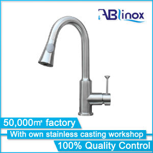 High Quality Stainless Steel Kitchen Faucet/ 3 Way Faucet/Pure Water Faucet (AB136) pictures & photos
