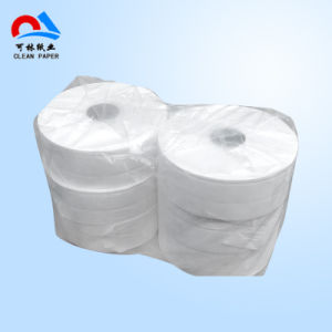 OEM Factory Recycled Pulp Economic Jumbo Roll Tissue pictures & photos