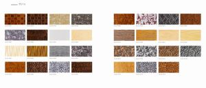 Impact Vivid Living Room MDF 3D PVC Wall Panel pictures & photos