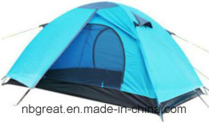 Traveling and Hiking 2 Person Lightweight Outdoor Family Camping Tent pictures & photos