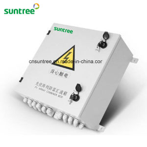 Solar Combiner Box 4-16 Strings PV Array with Lighting Protection Solar Junction Box pictures & photos