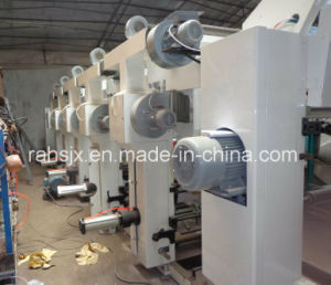 Middle Speed 4 Colors Rotogravure Printing Plastic Film Machine pictures & photos