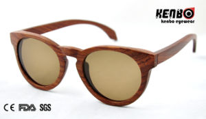 New Coming Fashion Wooden Sunglasses (Optical frame) CE. FDA. Kw024 pictures & photos