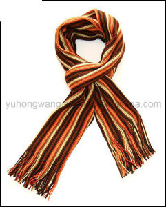 Wholesale Winter Warm Knitted Acrylic Scarf pictures & photos