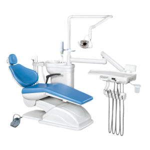 Electrical Operated Dental Chair Hanging Type Integral Dental Unit pictures & photos