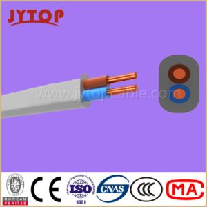 Twin Flat with Earth Cable, 6242y BS6004 Copper Wire, PVC Insulated, Flat Cables with Copper Conductor pictures & photos