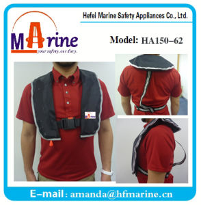 ISO Standard 150n Inflatable Life Vest pictures & photos