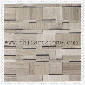 Mosaic 3D Polished and Split Finishes for Wall pictures & photos
