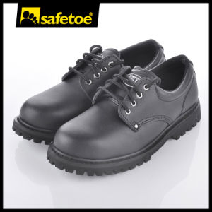 Goodyear Smooth Leather Safety Shoes for Worker L-7165 pictures & photos