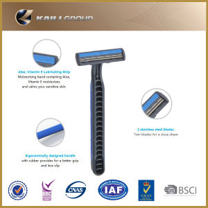 Triple Blades Disposable Razor for Men pictures & photos
