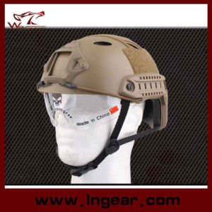 Tactical Pj Safety Helmet Combat Military Helmet with Clear Visor pictures & photos
