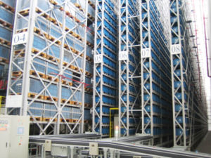 China Made High Quality Asrs Racking System for Logistics pictures & photos