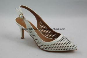 Breezy Fashion High Heel Sandal Women Shoes with Metal Buckle pictures & photos