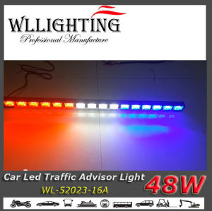 Multicolor LED Light Bar for Truck Blue/White/Red pictures & photos