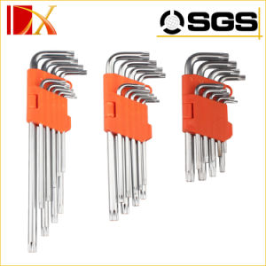 9PCS Double Blister Packing Extra Long Hex Key pictures & photos