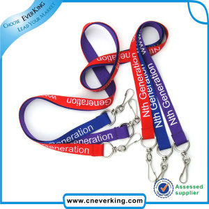 Wholesale Custom Logo Silkscreen Printing Lanyard pictures & photos