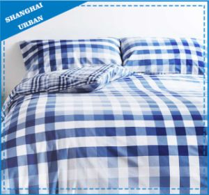 Sky Blue Design Printed Cotton Bed Linen pictures & photos