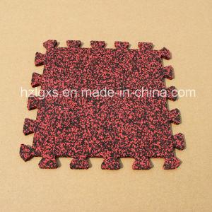 Gym Rubber Flooring EPDM Dots Interlcoking Rubber Mats pictures & photos