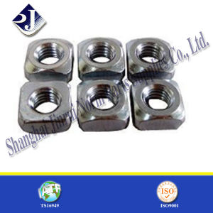 M12 DIN557 Standard Steel Square Nut for Bolt pictures & photos