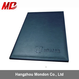 Custom Foil Stamping PU Diploma Cover PU Certificate Folder pictures & photos
