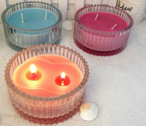 Hot Sale Candy Color Candle Cup pictures & photos