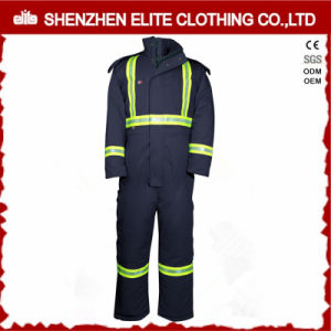 Uniform Construction Flame Retardant Overalls Winter Workwear (ELTCVJ-10) pictures & photos