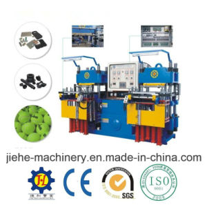 Professional Double Station Rubber Clamping Molding Machine pictures & photos