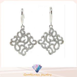 Hot Sale New Design Silver CZ Stone Sterling Silver Earring (IT1SE014) pictures & photos