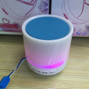 Handsfree Loudspeaker Gift Speaker Portbale S10 Bluetooth Mini Speaker with Colurful LED Light pictures & photos