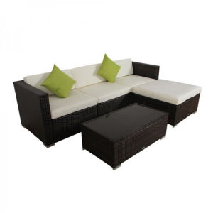 Outdoor Rattan Wicker Sofa Set with Coffee Table pictures & photos