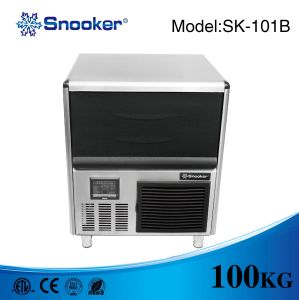 Bar Counter Cube Ice Maker 100 Kg/Day with Ce Approved pictures & photos