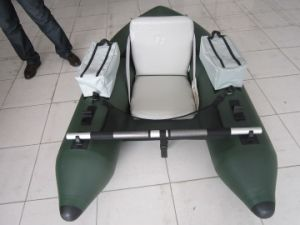 Individual Inflatable Belly Boat Convenient Small Fishing Boat pictures & photos