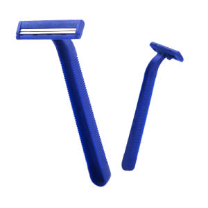 Cheaper Disposable Razor Twin Blade Stainless Steel Shaving Razor pictures & photos