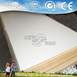 White Laminated Melamine MDF Board pictures & photos