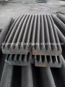 Jaw Crusher Spare Parts Fixed and Movable Jaw Plate pictures & photos