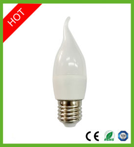 6W E14 E27 SMD LED Candle Bulb Light pictures & photos