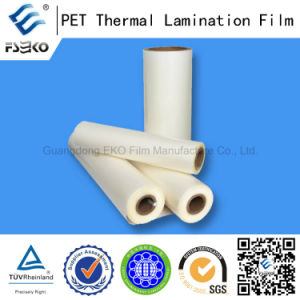 High Viscosity Pet Thermal Laminating Film (glossy 24mic) pictures & photos