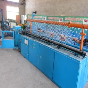 Full Automatic Chain Link Fence Diamond Mesh Making Machine