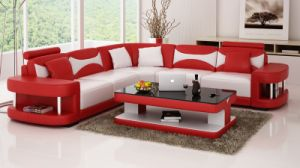 Popular Combination Leather Sofa pictures & photos