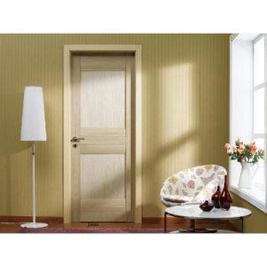 Chinese Style Solid Wooden Door Oak Wood Door Fashion Design (D1-21)