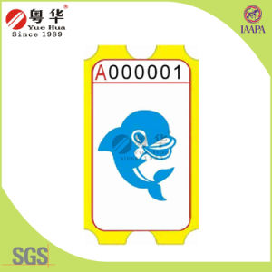 Yuehua Good Quality Game Amusement Ticket for Vending Machine pictures & photos