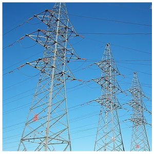 High Voltage Transmission Tower/Steel Structure
