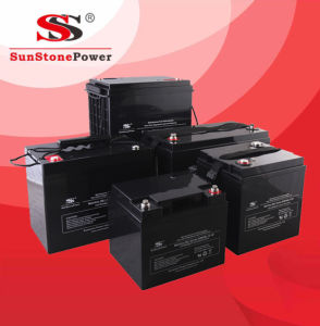 AGM Deep Cycle Battery 12V80ah for UPS Solar Battery pictures & photos